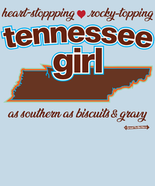 The Tennessee Girl Women's Fashion T-Shirt