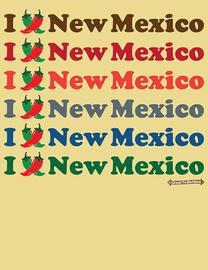 "The ""I Pepper New Mexico"" Women's Fashion T-Shirt"