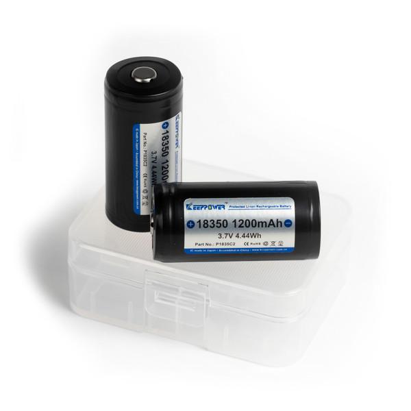 18350 Battery (2x)