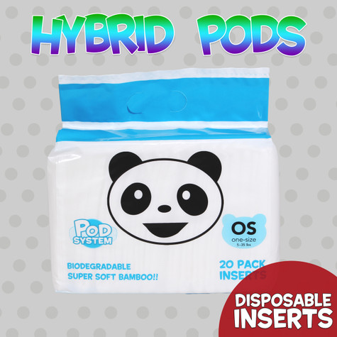H-Pods Hybrid Disposable Inserts: 20 Pack