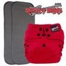 Rock-a-Bums 5-in-1 Diaper with Snaps