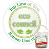 Pack of Custom Eco Council Badges - Badge Bucket
