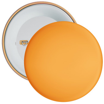 School Orange Coloured Badge
