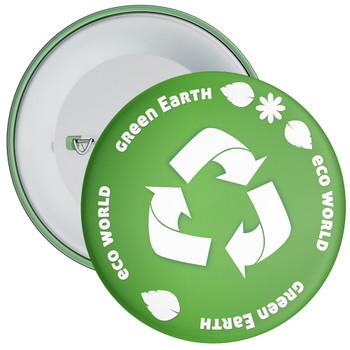 School Green Earth Eco Badge