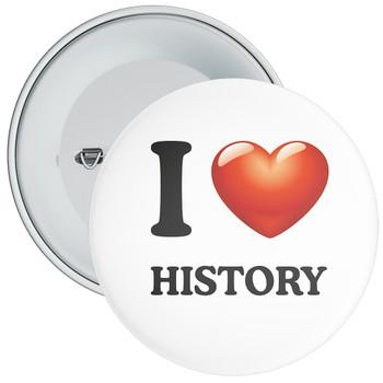 School I Love History Badge