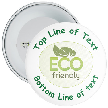 School Customisable Eco Friendly Badge 1