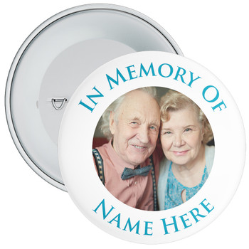 In Memory Of Photo Badge