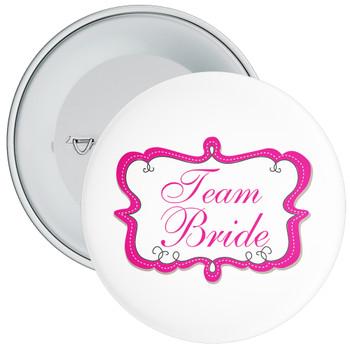 Team Bride Hen Badge 1