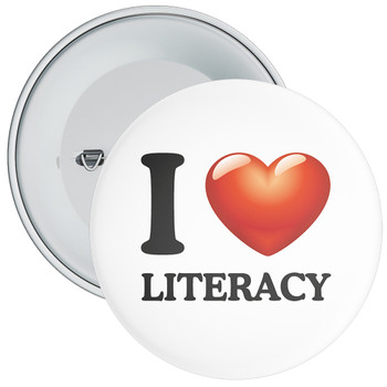 School I Love Literacy Badge