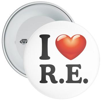 School I Love RE Badge