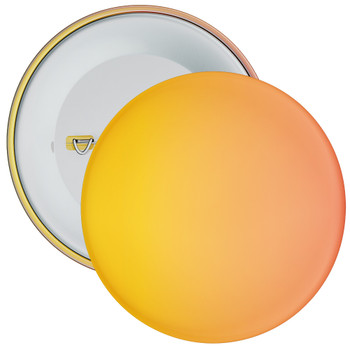 School Orange Gradient Coloured Badge