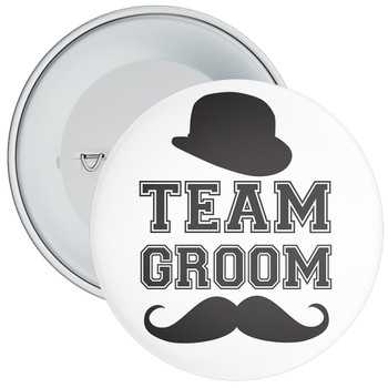 Team Groom Badge 11