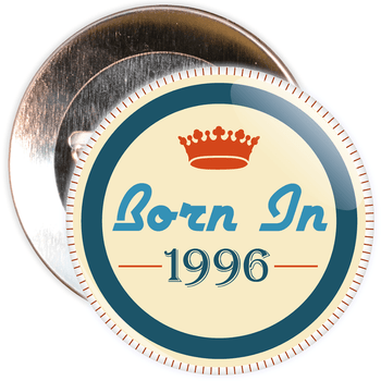 Born in 1996 Birthday Badge