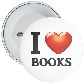 School I Love Books Badge