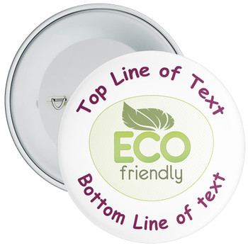 School Customisable Eco Friendly Badge
