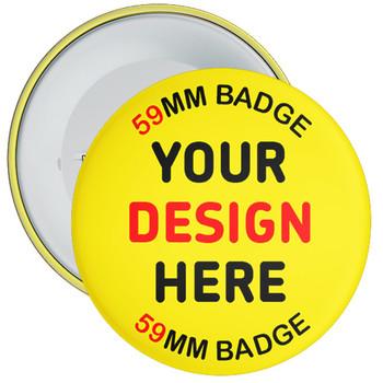 59mm Custom School Badges