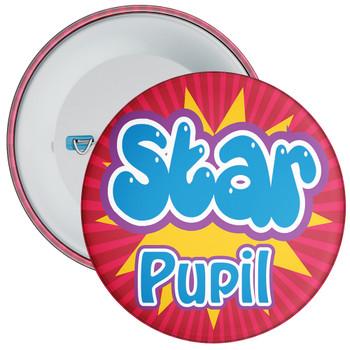 School Red Star Pupil Badge