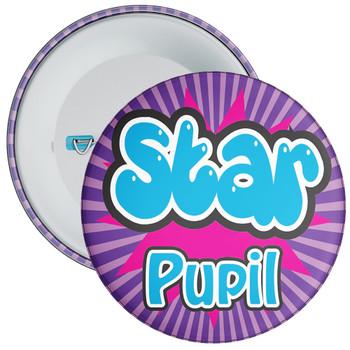 School Purple Star Pupil Badge