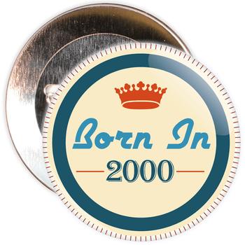Born in 2000 Birthday Badge