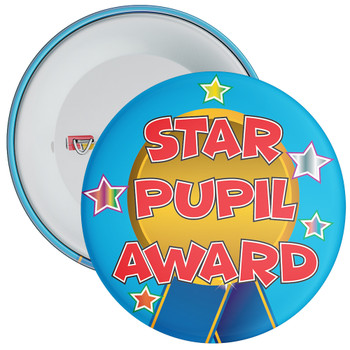 School Star Pupil Award Reward Badge