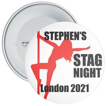 Stag Night Badge