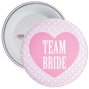 Classy Team Bride Hen Party Badge 1