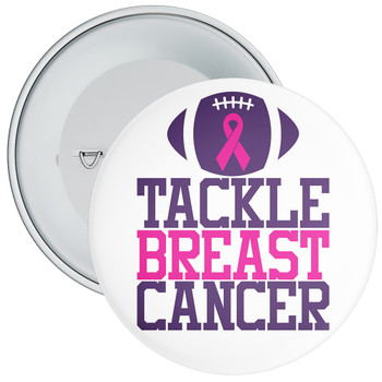 Tackle Breast Cancer Awareness Badge