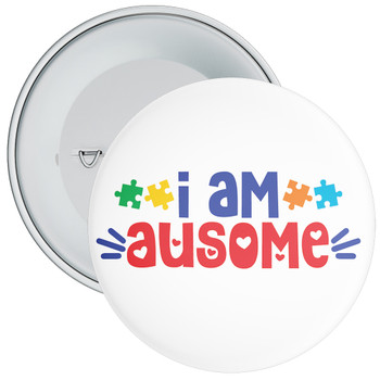 I Am Ausome Badge
