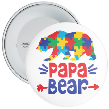 Papa BEAR Badge
