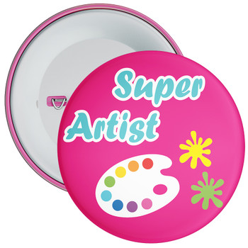 Super Artist Badge (Magenta)