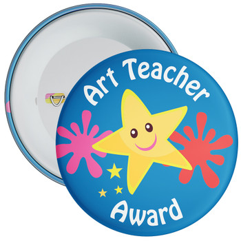 Art Teacher Award Badge