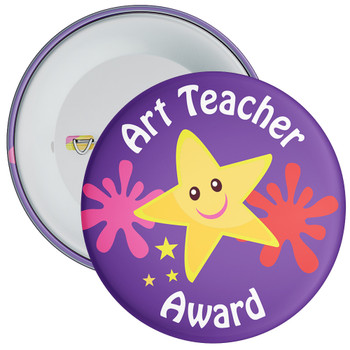 Art Teacher Award Badge 2