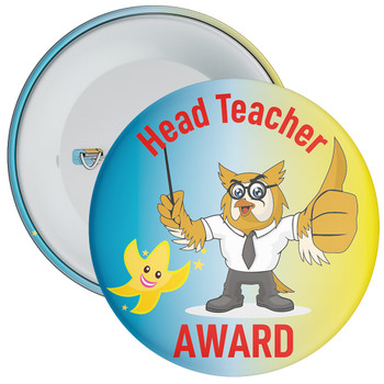 Head Teacher Award Badge 6