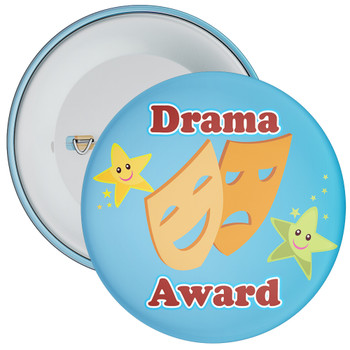 Blue Drama Award Badge