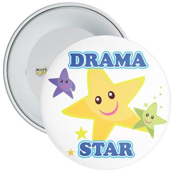 White Drama Star Badge