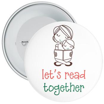 Lets Read Together Badge