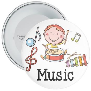 Drums Music Badge