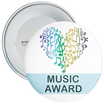 Colourful Music Award Badge