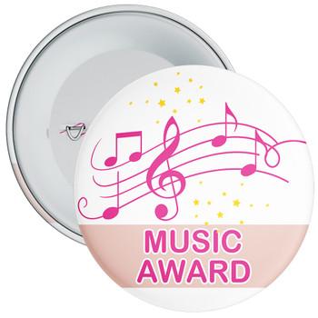 Pink Music Award Badge