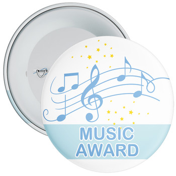 Blue Music Award Badge