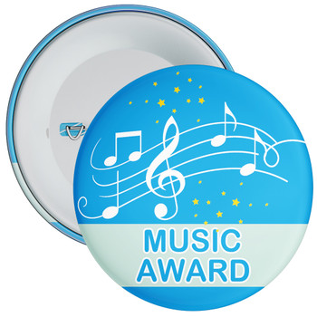 Blue Music Award Badge 2