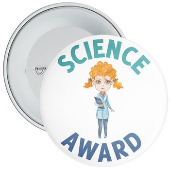 Science Award Girl Badge