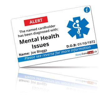 Mental Health I.C.E. Card
