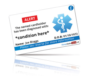 Any Illness I.C.E. Card