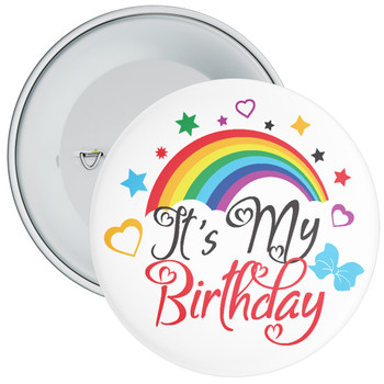 It's My Birthday Rainbow Badge