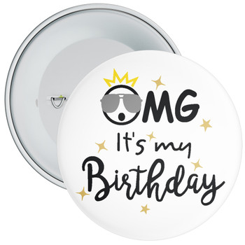 OMG It's My Birthday Badge