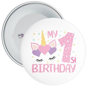 My 1st Birthday Badge