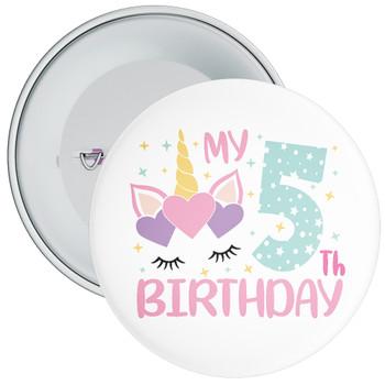 My 5th Birthday Badge