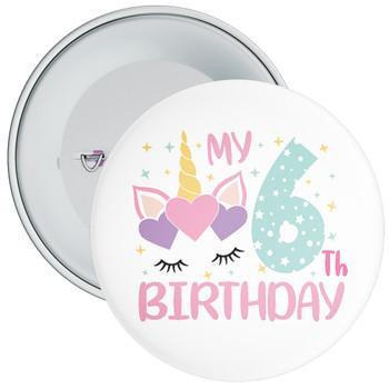 My 6th Birthday Badge