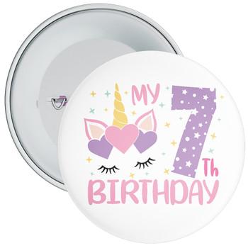 My 7th Birthday Badge